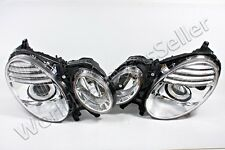 Headlight Lamp LEFT+RIGHT Fits MERCEDES E-Class W211 Facelift 2006-2009