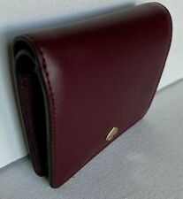 New Kate Spade New York Nadine small Bifold wallet Leather Cherrywood
