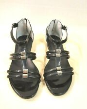 671D)Luxsus Marken Nero Giardini Sommer Schuhe Sandalen Leder Gr.35 NEU UVP109€