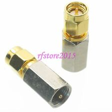 1pce Adapter Connector FME male plug to SMA male plug for Antenna Router