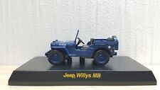 1/64 Kyosho JEEP WILLY'S MB BLUE diecast car model