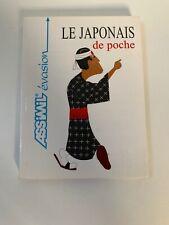 Livre Le Japonais de poche - Assimil Evasion