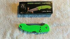 "FROST GREEN BERET 4.5"" lockback knife"
