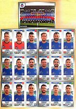 Calciatori Panini 2016/17 - Figurine stickers Novara squadra completa