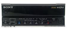 Sony HVR-M15U NTSC/PAL 1080i HDV DVCAM DV Digital Video Player Recorder-LOW HRS.