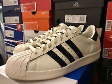 Adidas Superstar 80's DLX - Vintage White/Black - Size 10.5