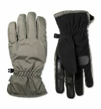 $148 Isotoner Signature Men's Gray Touchscreen Winter Insulated Thermal Gloves M