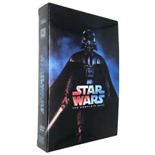 Star Wars: The Complete Saga (Movies 1-6) DVD- New / Sealed