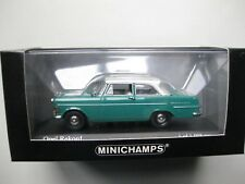 Opel Rekord P2 Minichamps Model Car scale 1/43 Bermudagrün one of 1008pcs