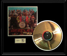 THE BEATLES SGT. PEPPER LONELY HEARTS 1967 LP GOLD RECORD DISC NON RIAA 50TH