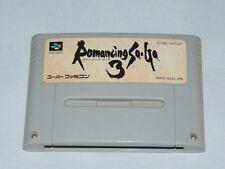 Super Famicom: Romancing Saga 3 (cartucho/cartridge)