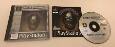 Oddworld: Abe's Oddysee Sony PlayStation PS1 PAL Complete