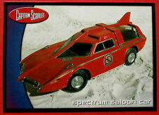 CAPTAIN SCARLET - Card #67 - Spectrum Saloon Car - Cards Inc. 2001