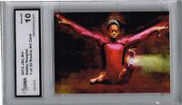 2012 Gabby Douglas Gymnastic Art Rookie  of 25 Gem Mint 10