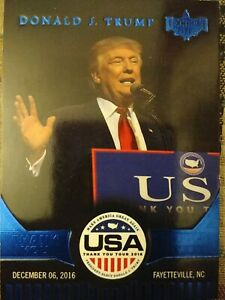 Donald J. Trump Thank You America Card TY2 Decision 2016