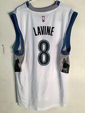 Adidas NBA Jersey Minnesota Timberwolves Zach LaVine White sz 2X