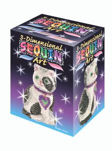 Sequin Art 3D Cat  - DIY Craft Set for Adults & Kids 0501