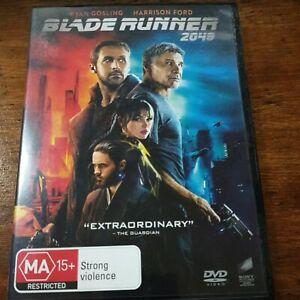 Blade Runner 2049 DVD R4 Like New! FREE POST