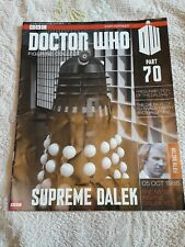 Dr Who Figurine Collection 70 Supreme Dalek magazine only