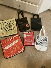 LULULEMON Reusable Bags 2 Large & 3 Small Tote Manifesto