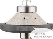 "3/16"" 3/4"" Diamond Profiling Wheel Router Bit Concrete Granite Bevel Bullnose"