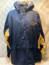 St Louis RAMS Football REEBOK NFL Los Angeles Jacket Size 2XL