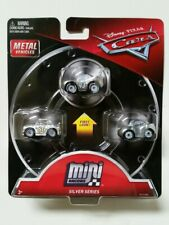 Disney CARS 3 mini micro racers silver 3 pack cars The King Chick Hicks Natalie