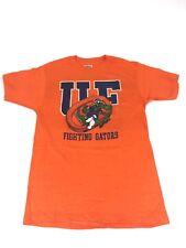 Vintage Florida T Shirt Large Fighting Gators Orange Graphic SEC Football Rare