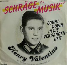 """7"""" 1980 RARE IN MINT- ! HENRY VALENTINO : Schräge Musik"""
