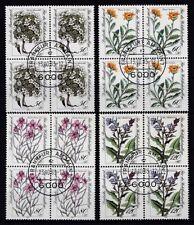 Postfrische Briefmarken aus der BRD (1980-1989) mit Blumen-Motiv als Satz