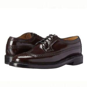 Florsheim Kenmoor Imperial Mens Wingtip Burgundy Leather Oxfords 17109-05 10.5 D