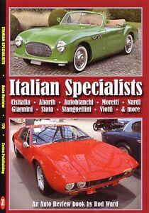Book - Italian Specialists - Abarth Autobianchi De Tomaso Moretti - Auto Review