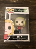 Beth Funko Pop #301 Rick And Morty