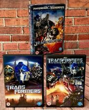 Transformers 2 Dvd Box Set Movie Collection original & revenge of the fallen vgc