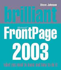 Brilliant Frontpage 2003, Johnson, Mr Steve, Used; Good Book