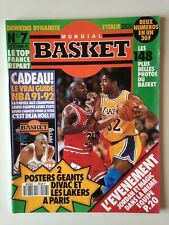 MONDIAL BASKET N°7 OCTOBRE 1991 JORDAN - MAGIC JOHNSON