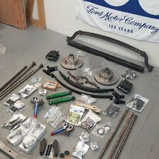 1928-1931 Ford Model A DELUXE 4 Link Drop Drilled Axle Kit Rat Hot Rod Early V8