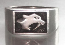 .925 Sterling Silver Nashville Predators Unisex ring SZ 12, 13