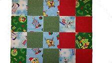 "40 5"" Quilting Fabric Sqs POOH ETC Fun Pack- NEW PATTERNS!Pooh,Spongebob/Olaf"