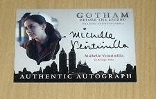 2017 Cryptozoic Gotham season 2 autograph Michelle Veintimilla as Bridgit Pike