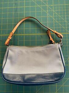 Coach Light Blue Small Sized Purse Handbag