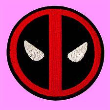 Dead Pool Logo Comics Marvel X-Men Cartoon Kids Embroidered Iron On Patch