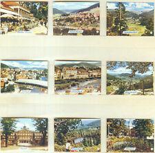 9er Streichholzetikettenserie 42b - mit Städtemotive (Baden-Baden und Umgebung)