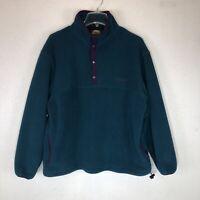 Vintage Cabelas Womens Fleece Pullover Polartec Jacket Sweatshirt Size Large