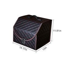 Car Trunk Organizer Box Storage Bag Auto Trash Tool Bag PU Leather Folding New
