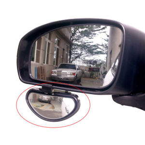 Car Accessories Safety Side Blindspot Blind Wide Angle View Spot Mirror 10*5cm