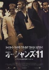 Ocean's 11 - Original Japanese Chirashi Mini Poster - Brad Pitt - George Clooney