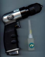 """Car Tool Pneumatic (EARS-4305AC) 3/8"""" Keyless Air Drill 4000 RPM, Vacula"""