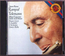 Jean-Pierre RAMPAL: TELEMANN Flute Concerto JANOS ROLLA CBS CD Made in Japan