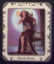 Clara Lou Sheridan 1934 Garbaty Film Star Series 2 Embossed Cigarette Card #203